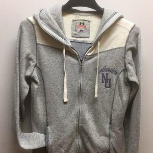 Northwestern underarmour hoodie size m